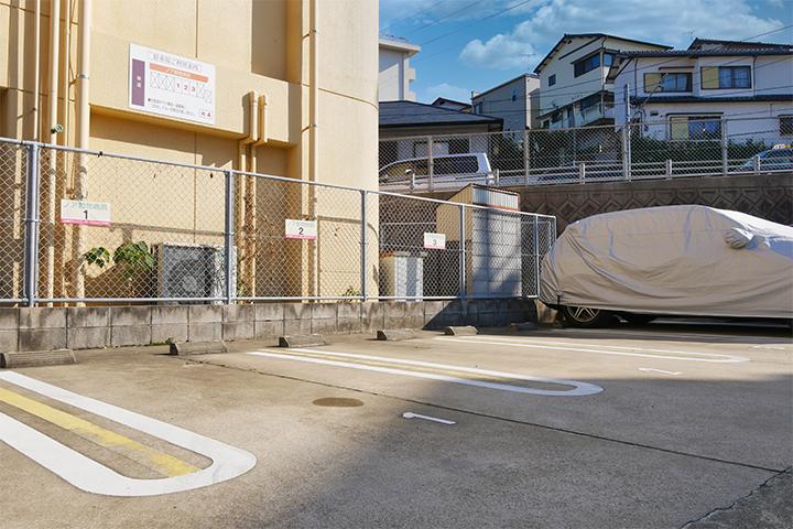 医院専用駐車場